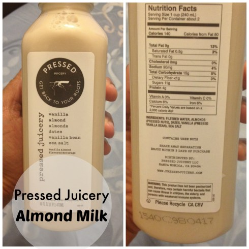 Pressed Juicer Almond Milk #almondmilk #pressedjuicery