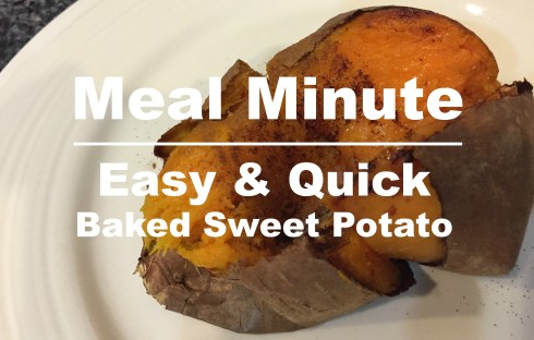 Easy Baked Sweet Potato