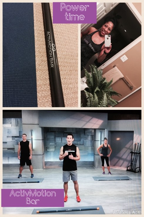 ActivMotion Bar Workout #activmotionbar #sweatpink