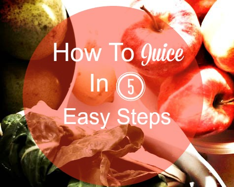 How To Juice in 5 Easy Steps cover
