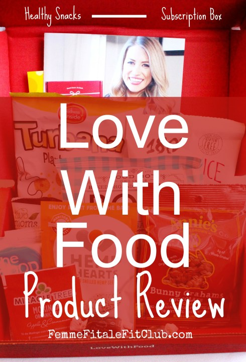 March Love With Food Snack Box Curated By Megan Roosevelt Open Box