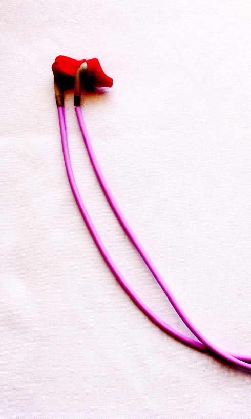 Untangled Yurbuds vertical