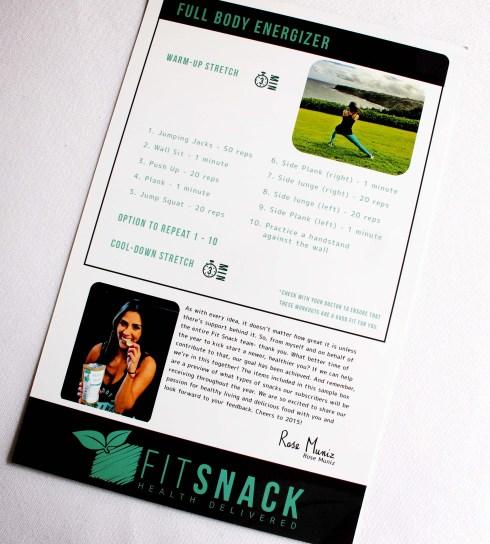 Fitsnack box insert