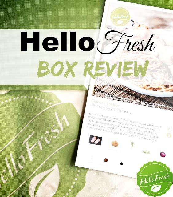 HelloFresh Box Review