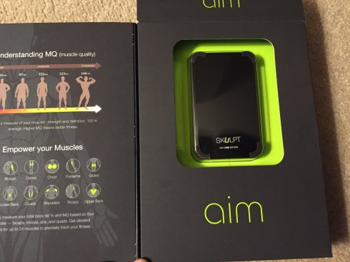 Skulpt Aim in its box