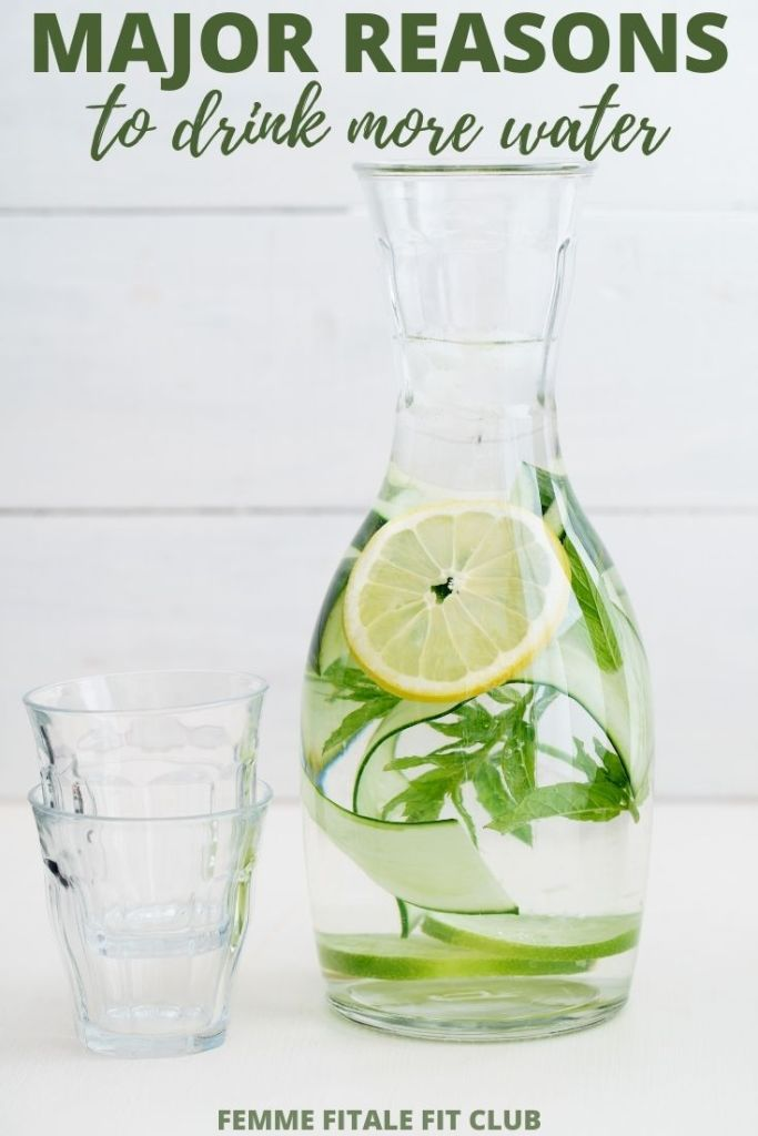 Increase your water intake with these tips and try the fruit infused water recipes to spruce up the plain taste. #waterfast #spawater #detox #waterdetox #watercleanse #cucumberwater #infusedwaterrecipe #drinkwater #water #hydration #hydrationnation
