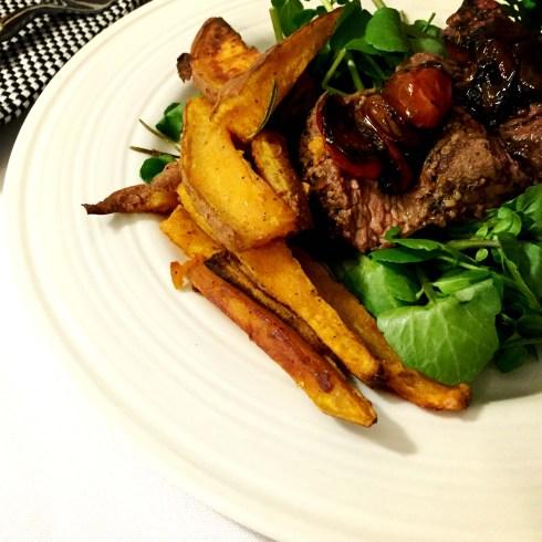 Steak Tagliata Dish