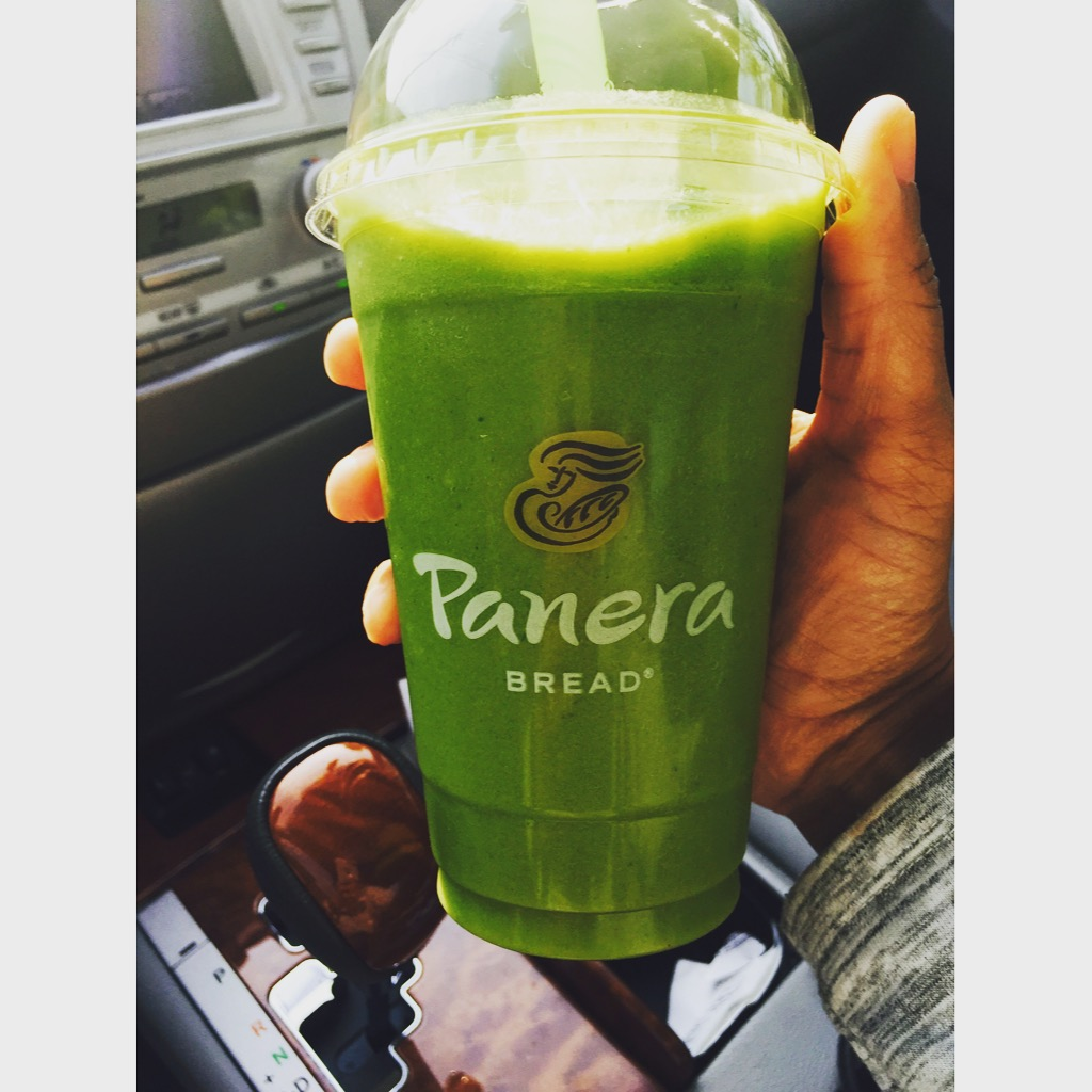 Panera Bread Green Passion Power Smoothie