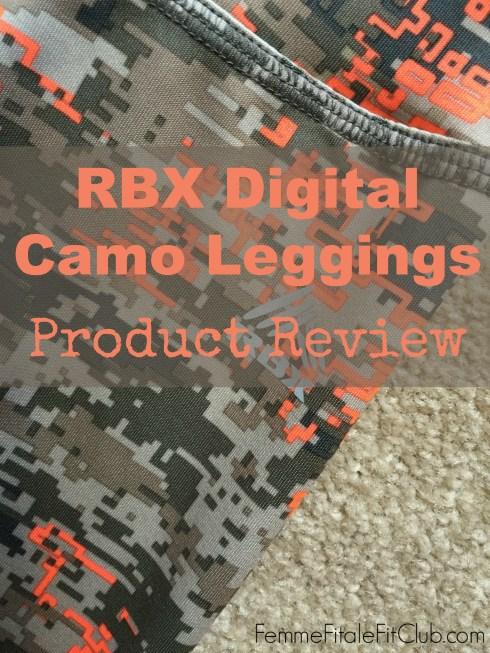 RBX Digital Camo Leggings
