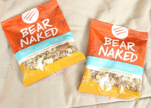 Bear Naked Almond Coconut Curry Granola