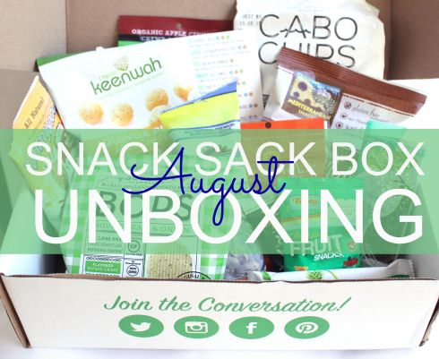 Snack Sack Subscription Box cover