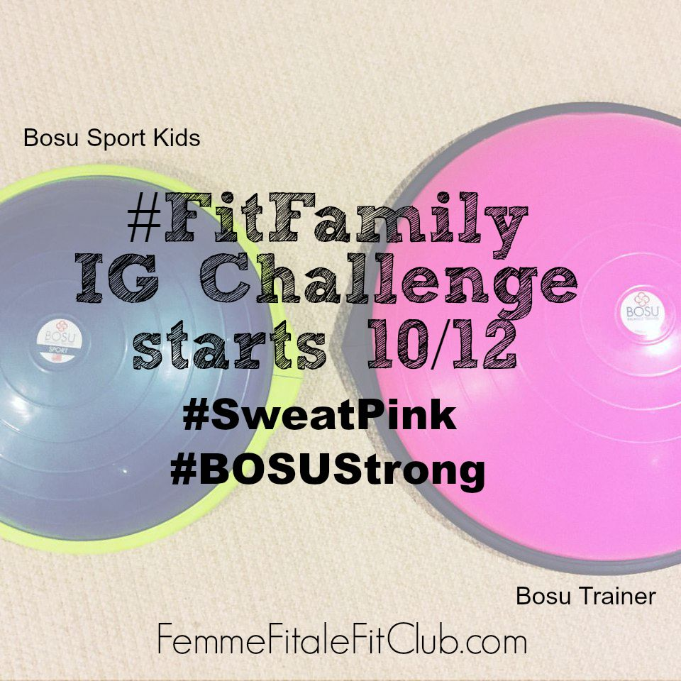 Bosu Ball and Bosu Sport Kids announcement