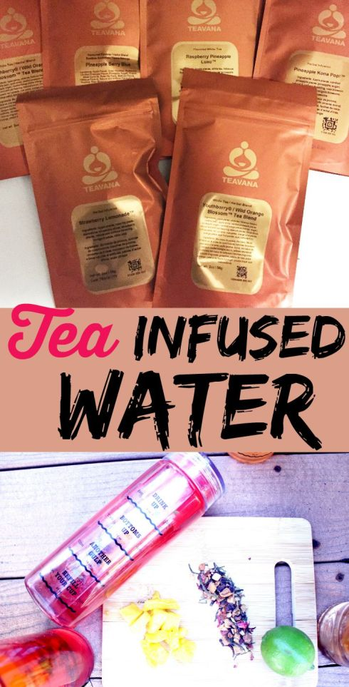 Tea Infused Water
