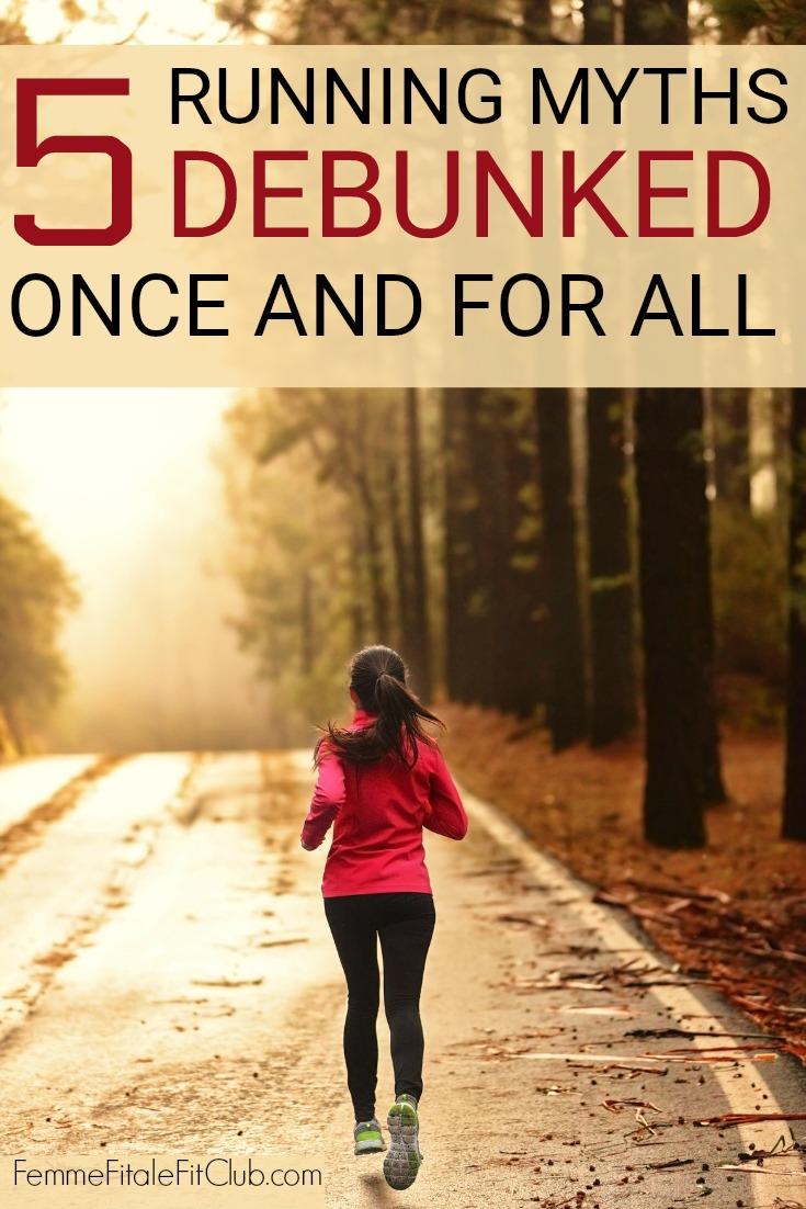 5 Running Myths Debunked Once And For All #running #runner #run #blackgirlsrun #marathon #5K #10K #runnersworld