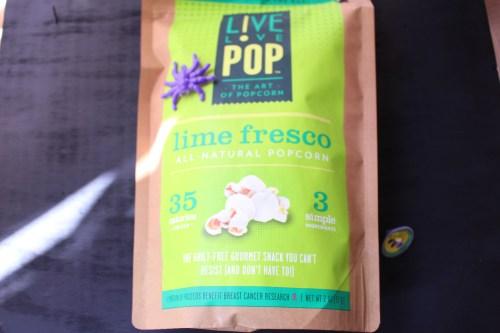 Live Love Pop Lime Fresco Popcorn