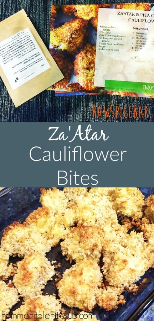 Za'Atar Cauliflower Bites by RawSpiceBar