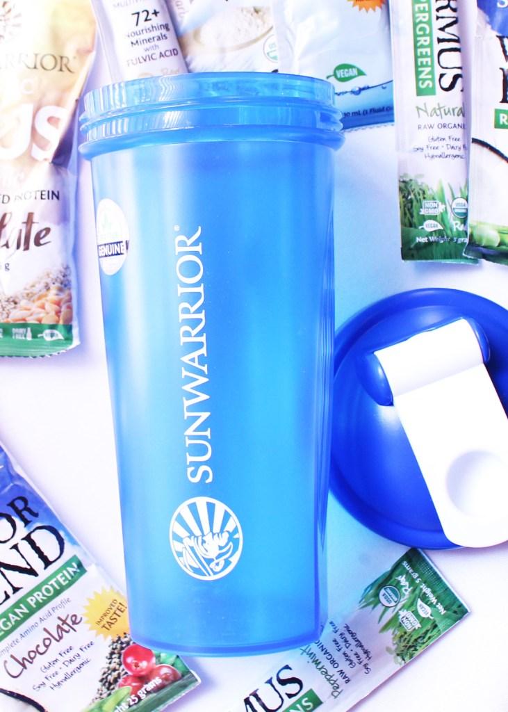 Sunwarrior Shaker Bottle