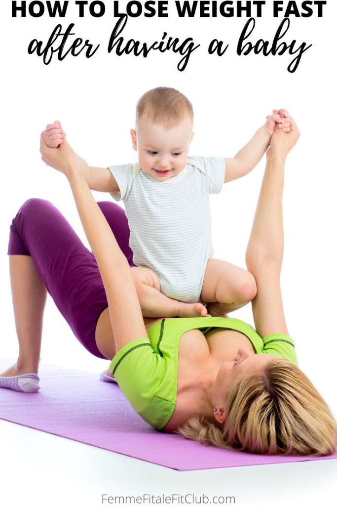 Becoming a mom and losing weight after pregnancy can be a challenge. Use these tips to help you lose weight fast after having a baby without mommy and me fitness classes. #babyweight #newmomworkout #newmombellyworkout #mommyandme #newbaby #postpartum #postnatal #pelvicfloor #womenshealth #babyexercise