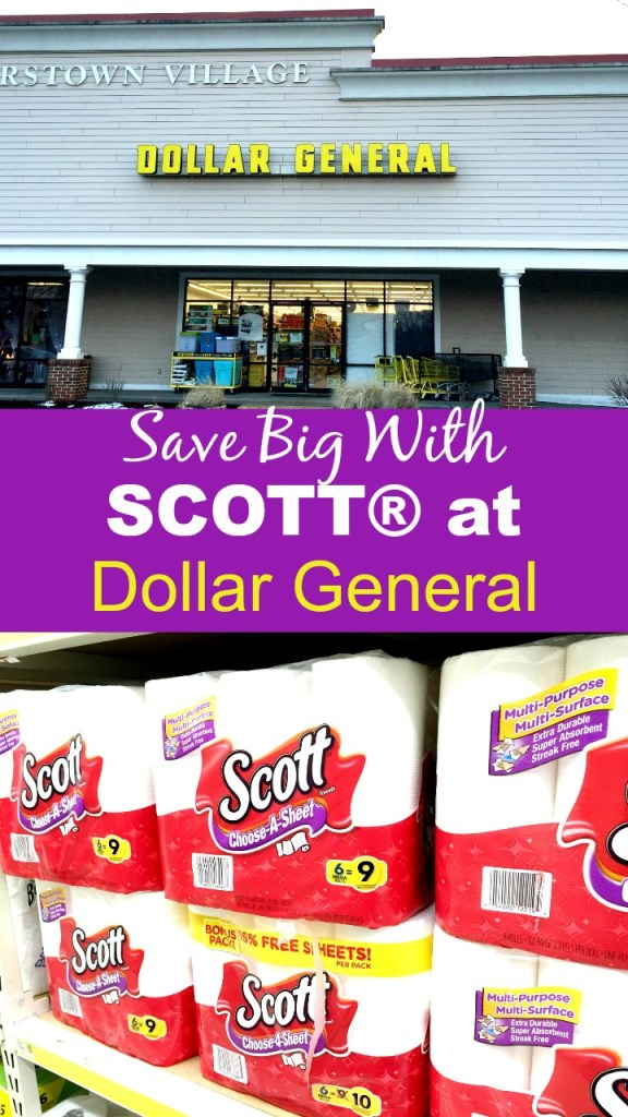 Save Big With Scott at Dollar General