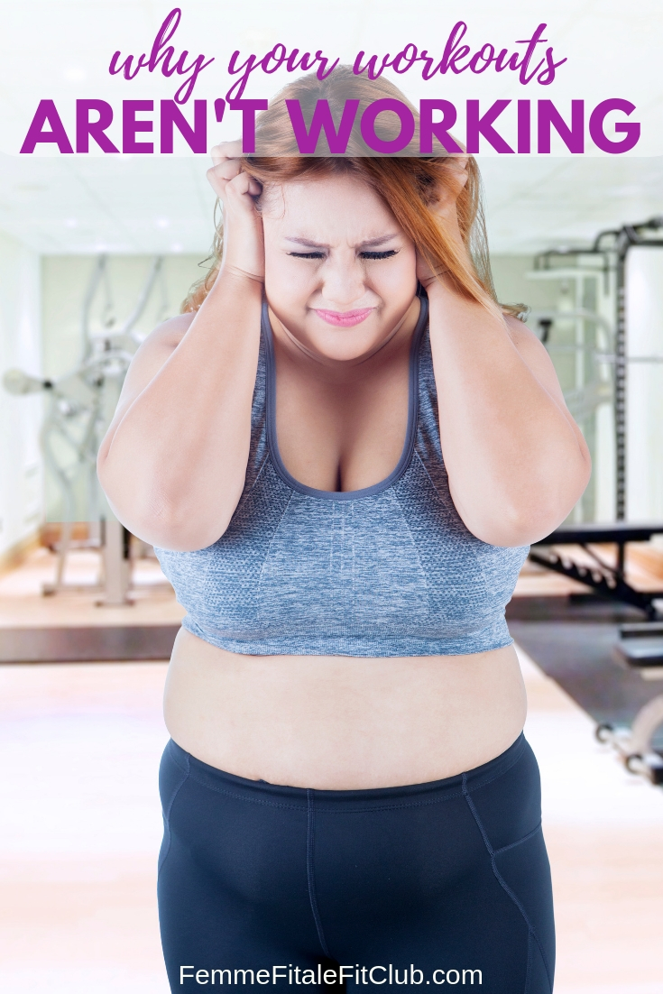 Why Your Workouts Aren't Working #fitness #workout #exercise #health #fitfam #trainerize #training #weightlossforwomen #weightlosstips #fatlosstips