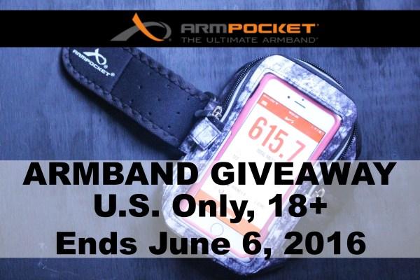 Armpocket Armband Giveaway