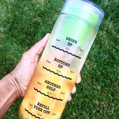 Premium Infusion Water Bottle with Drink Tracker