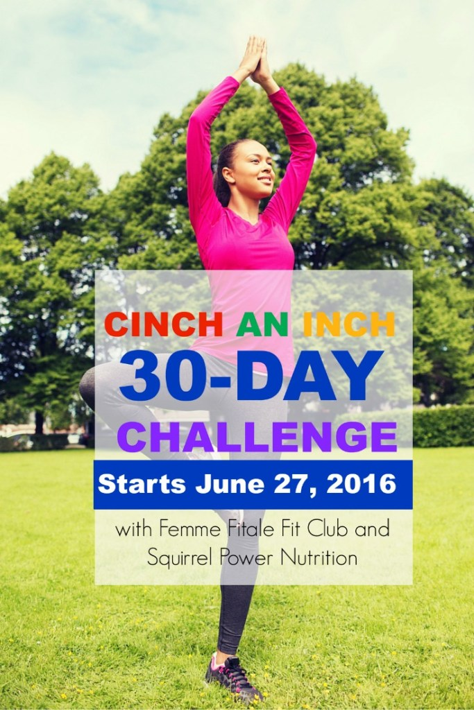 June Cinch An Inch Fitness and Nutrition Challenge