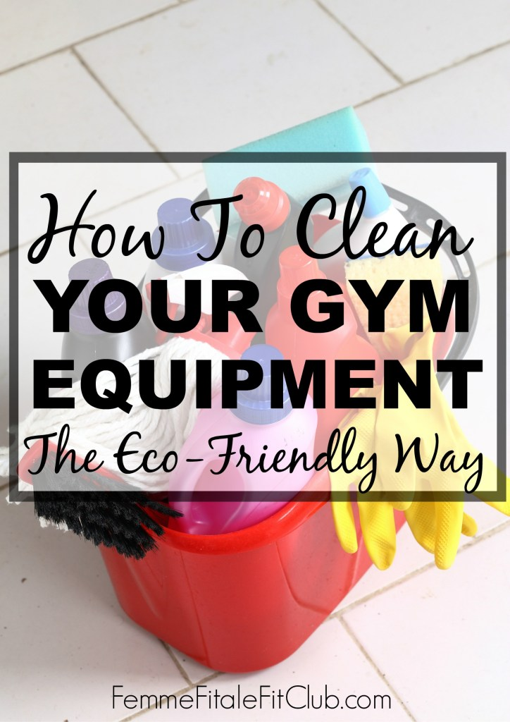 How To Clean Your Gym Equipment The Eco-Friendly Way #gymgerms #gymequipment #naturalcleaner #essentialoils