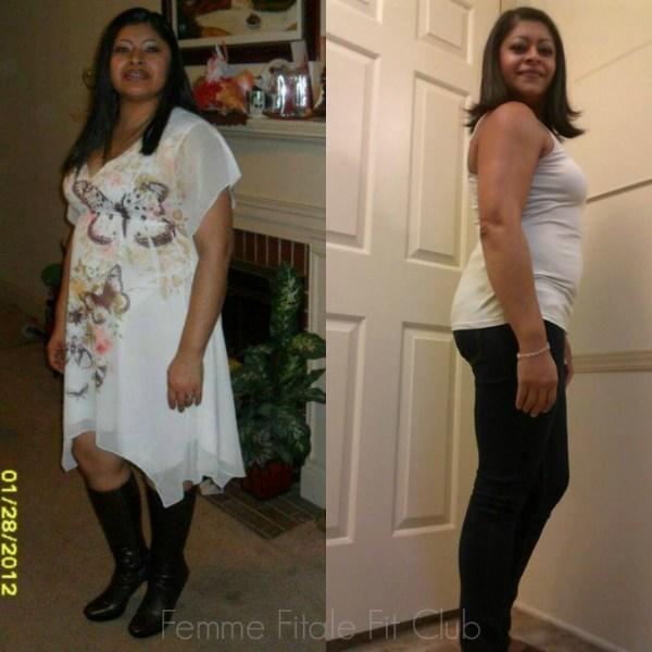 Carolina Thomas weight loss success story 2