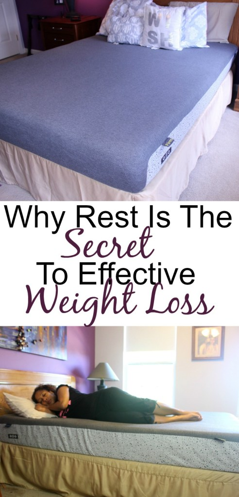 why rest is important for effective weight loss