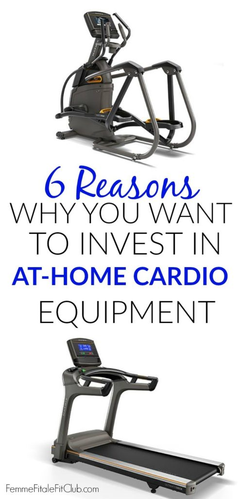 Here are 6 key reasons why you want to invest in cardio equipment for your home. #cardio #elliptical #treadmill #incumbentbike #gymequipment #homegym #homegoods #johnsonfitness #matrixfitness #MatrixTF30