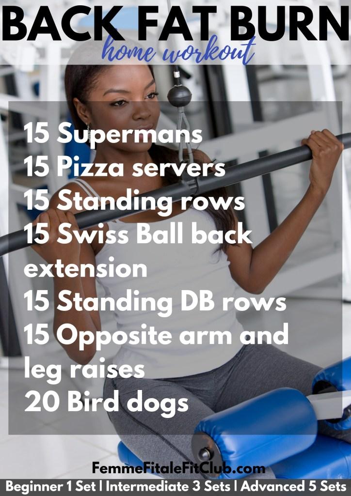 Back Fat Burn home workout #backfat #workout #brafat #fitness #gymtime #gym #backworkout #health #fitnesstips #healthtips #wellness #wellnesstips #gymworkout #backfat #brafat