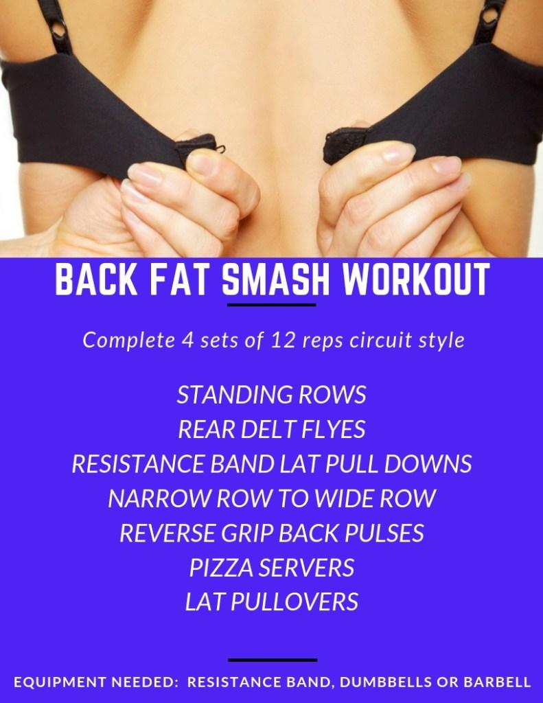 Back Fat Smash Workout #brafat #backfat #rows #lats #latissimusdorsi #workout #exercise #fitness #backworkout (1)