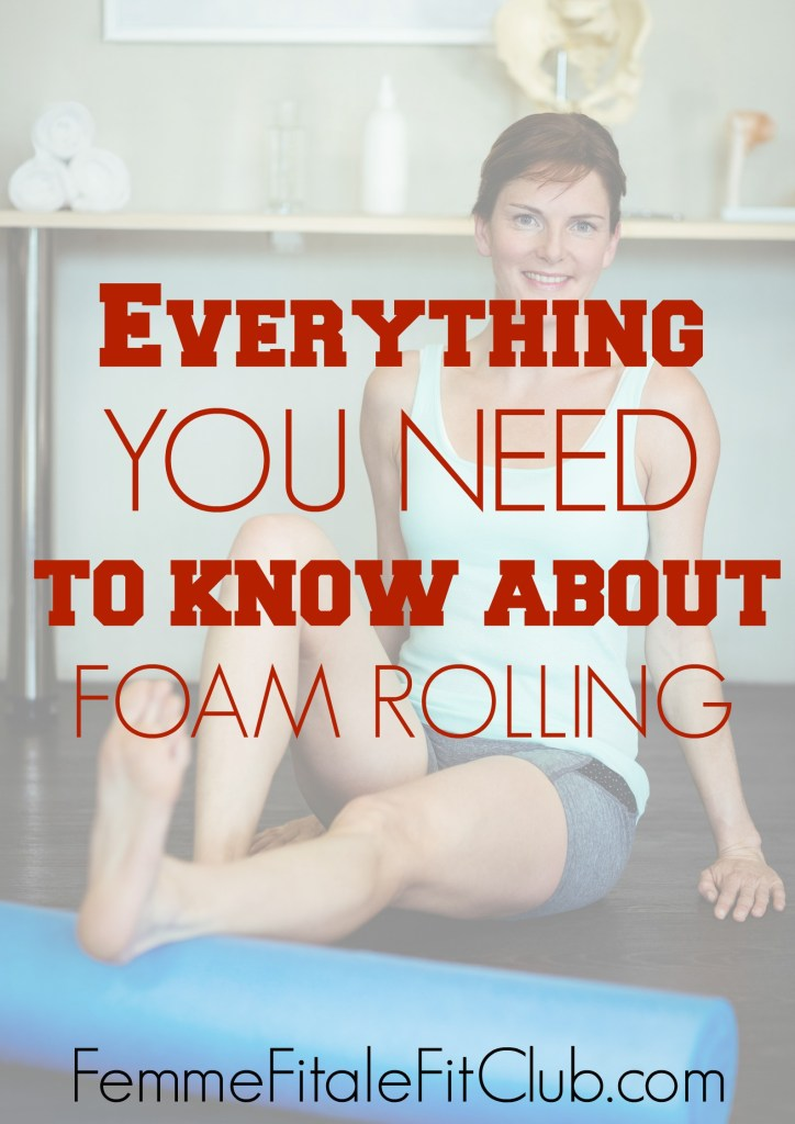 Everything you need to know about foam rolling #smr #foamrolling #tightmuscles #selfmyofascialrelease #soremuscles