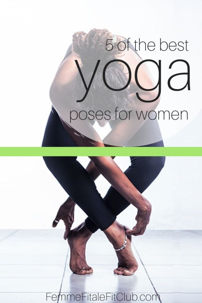 5 of the best yoga poses for women #namasate #yoga #yogi #yogapose #yogaforwomen #treepose