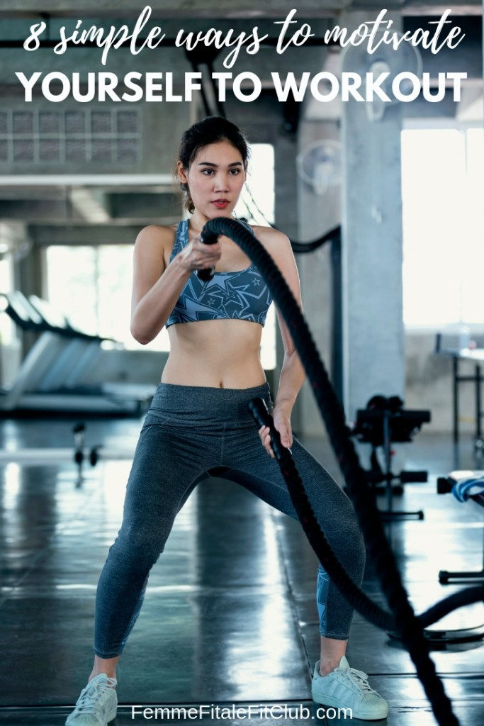 8 Simple Ways to Motivate Yourself To Workout #motivation #fitspiration #fitnessmotivation #health #weightlosstips #fitnesstips #healthtips #workout (3)