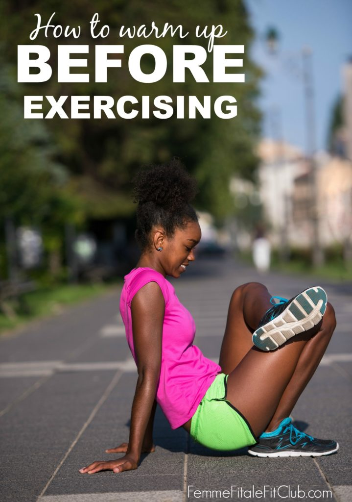 Here's how to effectively warm up before exercising and why it's important. #fitness #exercise #workout