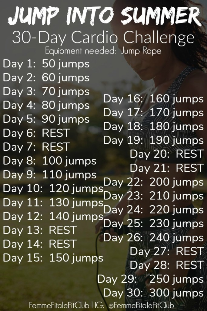 Couple this jump rope routine with your workout program and watch the fat melt away. This is also a bonus to the 30-Day Gut And Butt Fitness Challenge. #jumprope #cardio #speedrope #crossfitcardio #crossfit #cardioforwomen #weightlossforwomen #fatloss #weightlossforwomen #womenshealth
