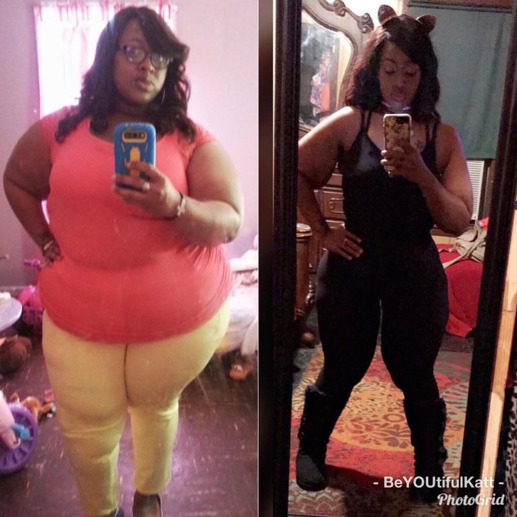 Katt Flanigan Transformation #weightlossbeforeandafter