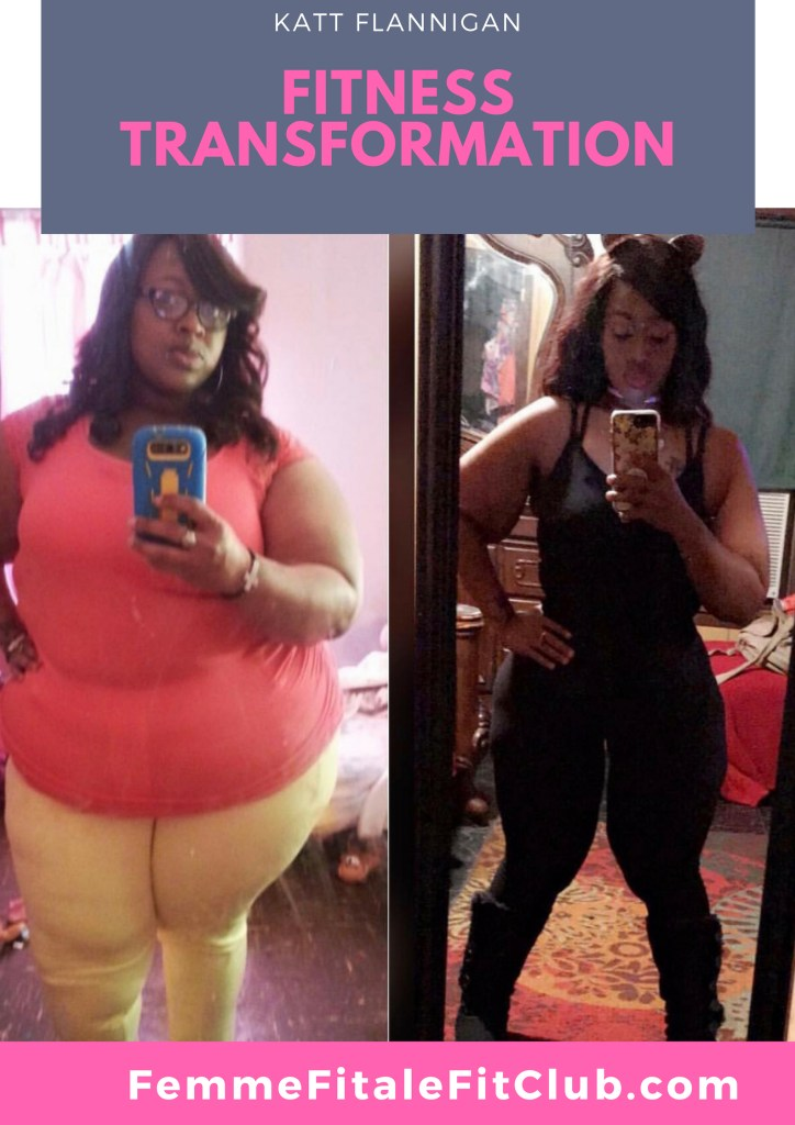 Katt Flanigan Transformation #weightlossbeforeandafter