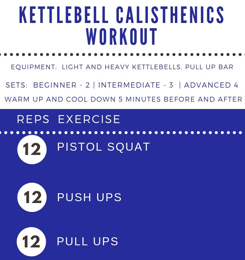 Kettlebell Calisthenics Workout by Femme Fitale Fit Club #workout #totalbodyworkout #fullbodyworkout #athomeworkout banner