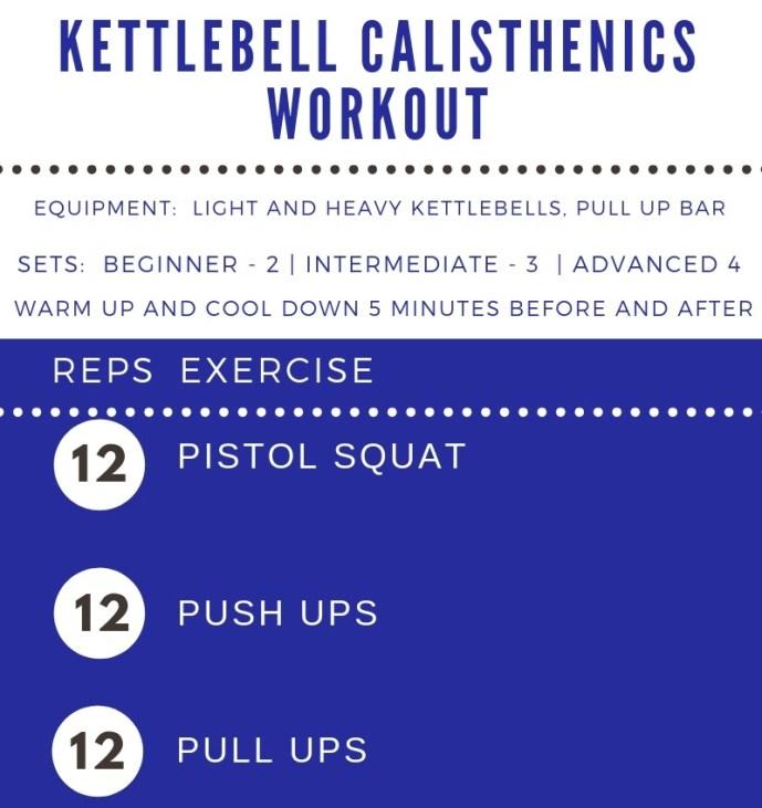 Kettlebell Calisthenics Workout by Femme Fitale Fit Club #workout #totalbodyworkout #fullbodyworkout #athomeworkout banner