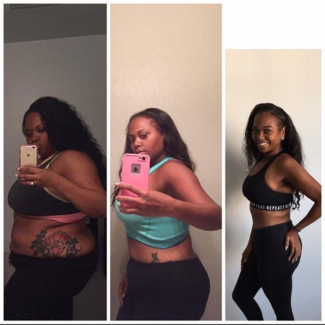 HazelEyed_K @weightlosstransformation #powerlifter #weightlossbeforeandafter #bwlw
