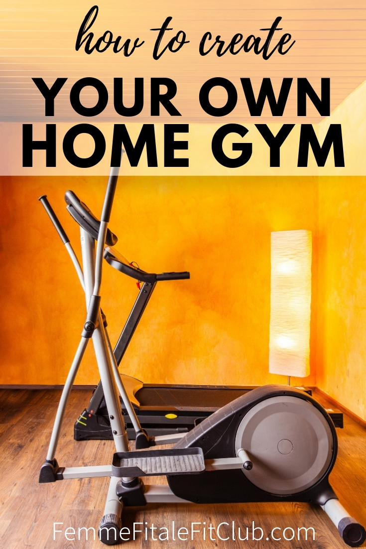 How to create your own amazing home gym #homegym #gymequipment #weightrack #treadmill #yogamat #health #fitnesstip #homegymtips #gym