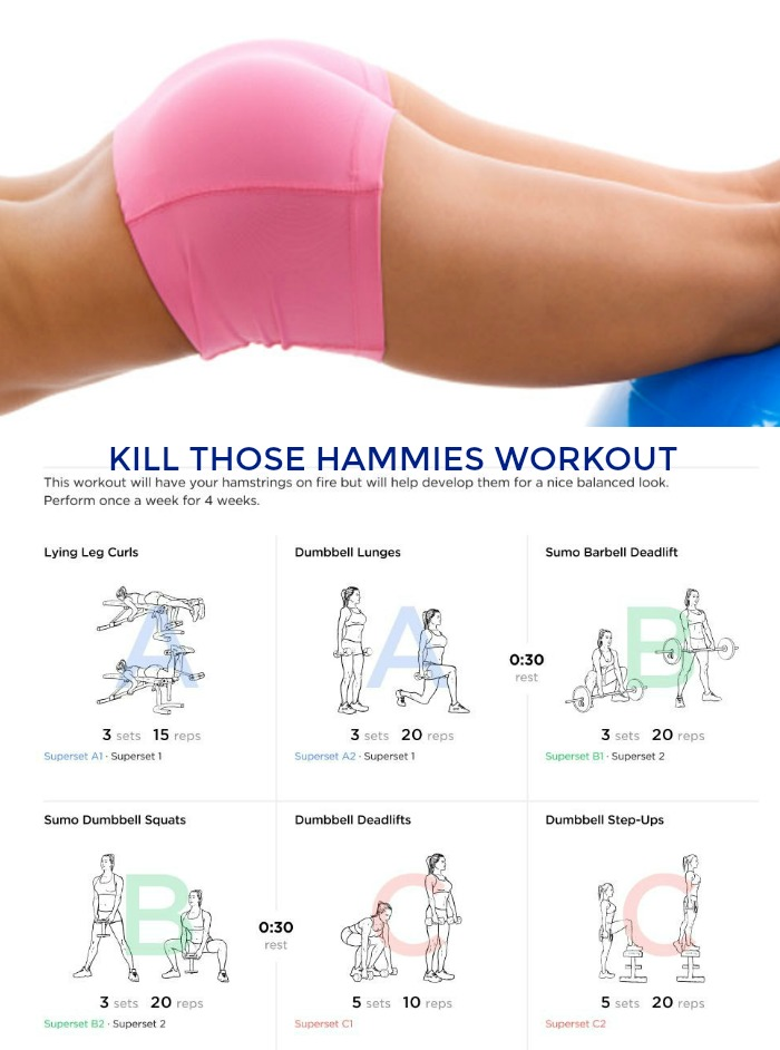 Kill Those Hammies Workout #hamstrings #legs #lowerbodyworkout #getfit #supersets #legday #legdayworkout #workout #fitness