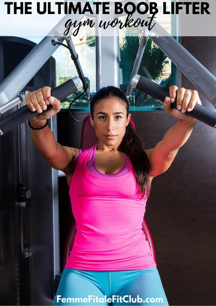 The Ultimate Boob Lifter Gym Workout #boobjob #chestjob #breastjob #chestpress #chestflye #bigboobs #firmboobs #chestlift #booblift #naturalbreastlift #chestexercise