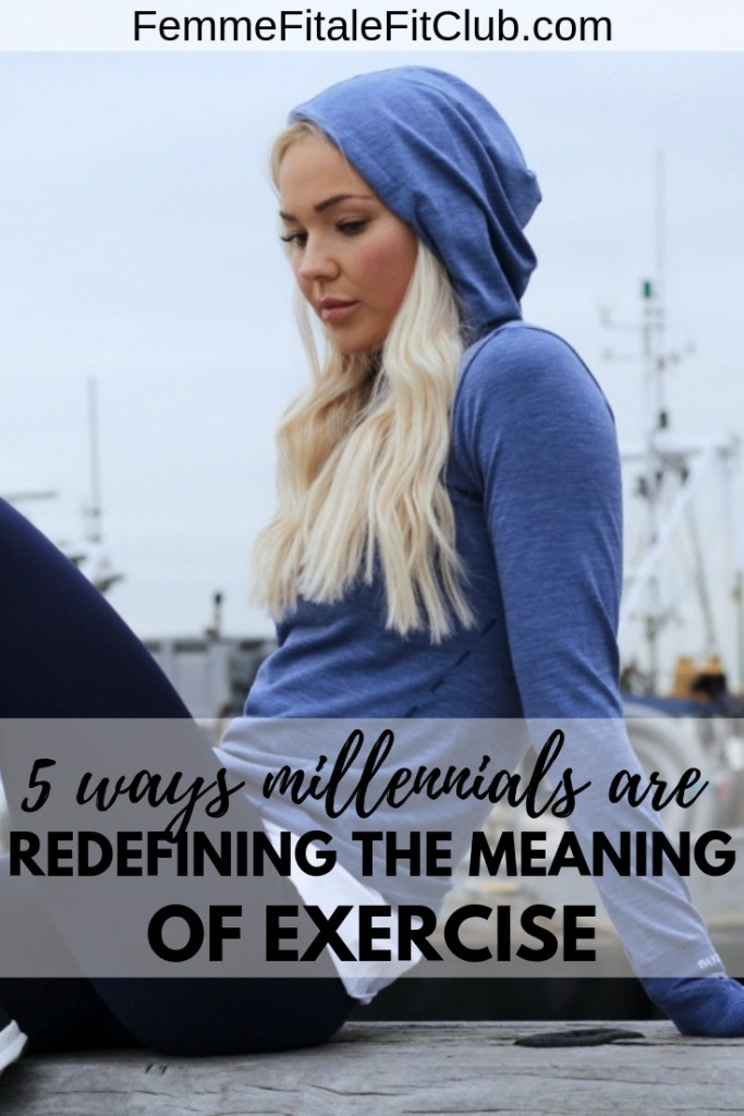 5 Ways Millennials Are Redefining The Meaning Of Exercise #millennialworkout #workout #fitness #youngadultfitness #millennialfitness #health #fitfam #exercise #workout