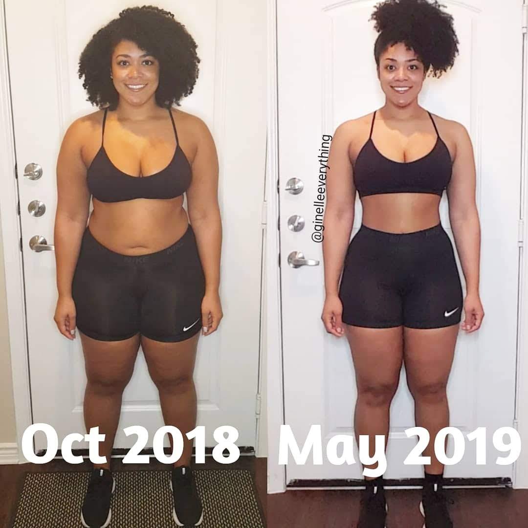 Ginelle Smith #weightlossbeforeandafter #weightlosstransformation #weightlosstips #blackwomenweightloss #weightlosssuccess