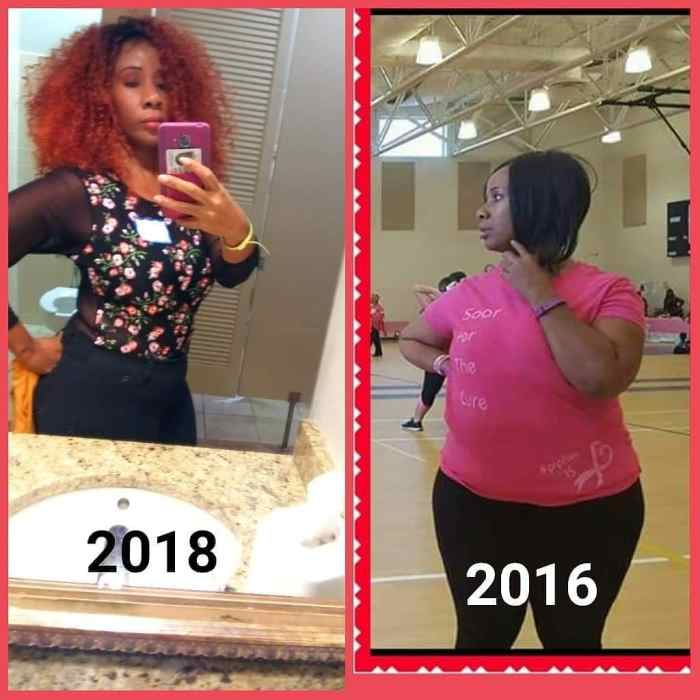 Tina #weightlossbeforeandafter #weightlosstransformation #weightlosstips #blackwomenweightloss #weightlosssuccess