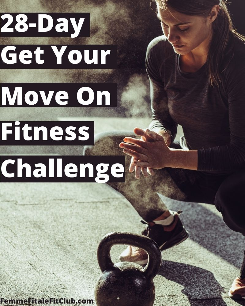 Join our 28-Day Get Your Move On Challenge and move your way to a tighter body, toned arms and legs and shrinking waist. #healthiswealth #FitnessChallenge #getfit #workoutsforwomen